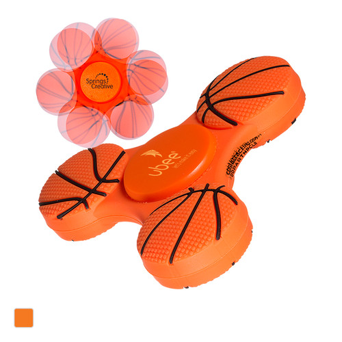 Gametime!® Spinner - Basketball (00341-19); Primary; Decoration Type: