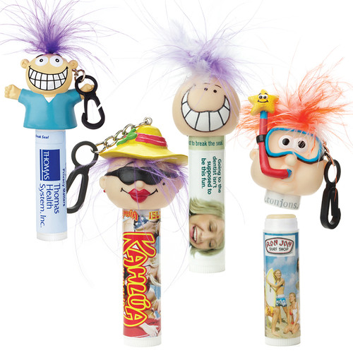 Lip Balm – Mint Formula With Goofy Group™ Head (01980-19); Primary; Decoration Type: