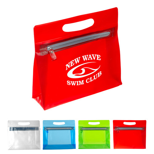 Pvc Pouch With Handle (00932-19); Primary; Decoration Type: