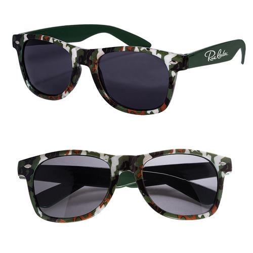 Camouflage Sunglasses (00267-19); Primary; Decoration Type: