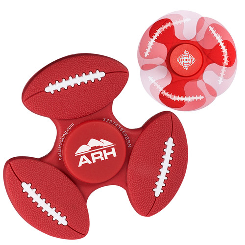 Gametime!® Spinner - Football (00776-19); Primary; Decoration Type: