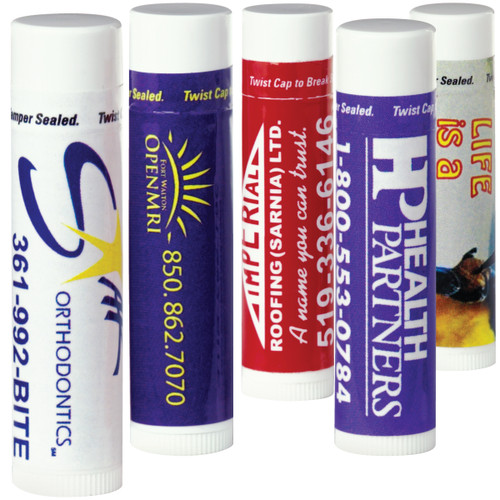 Lip Balm – Vanilla Formula (01111-19); Primary; Decoration Type: