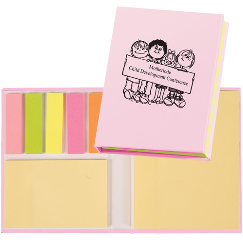 Hardcover Notepad Holder (00052-19); Primary; Decoration Type: