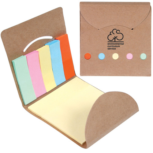 Pocket Sticky Note Memo Book (01455-19); Primary; Decoration Type: