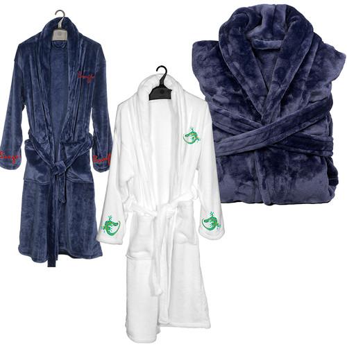 Ultra-Plush Robe (01001-19); Primary; Decoration Type: