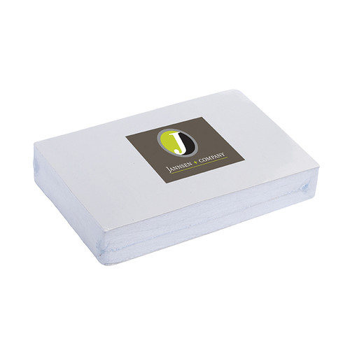 11 X 18  Compressed Towel - Rectangle Shape (00927-19); Primary; Decoration Type: