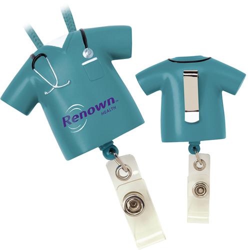 Scrub Badge Pull (00253-19); Primary; Decoration Type: