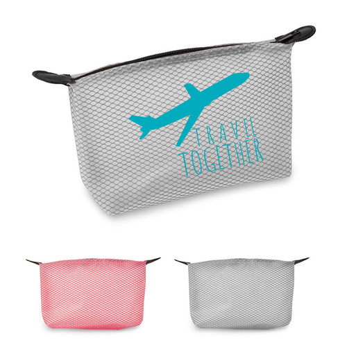 Dusk Mesh Toiletry Pouch (01607-19); Primary; Decoration Type: