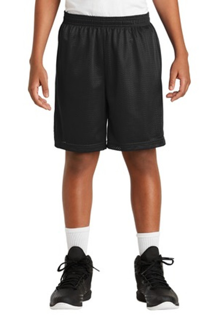 Sport-Tek Youth Posicharge Classic Mesh Short (01293-25); Primary; Decoration Type: