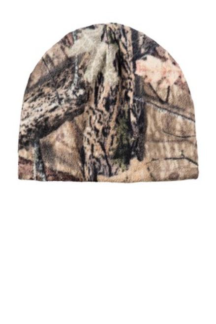 Port Authority Camouflage Fleece Beanie (01062-25); Primary; Decoration Type: