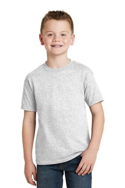 Hanes - Youth Ecosmart 50/50 Cotton/Poly T-Shirt (02257-25); Primary; Decoration Type:
