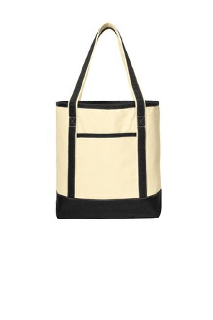 Port Authority Large Cotton Canvas Boat Tote (00357-25); Primary; Decoration Type: