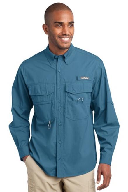 Eddie Bauer - Long Sleeve Fishing Shirt (01818-25); Primary; Decoration Type: