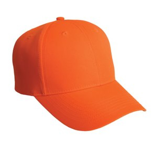 Port Authority Solid Enhanced Visibility Cap (02092-25); Primary; Decoration Type:
