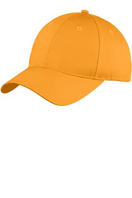 Port & Company Six-Panel Unstructured Twill Cap (01556-25); Primary; Decoration Type: