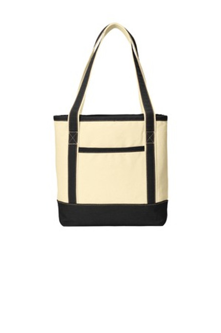 Port Authority Medium Cotton Canvas Boat Tote (02020-25); Primary; Decoration Type: