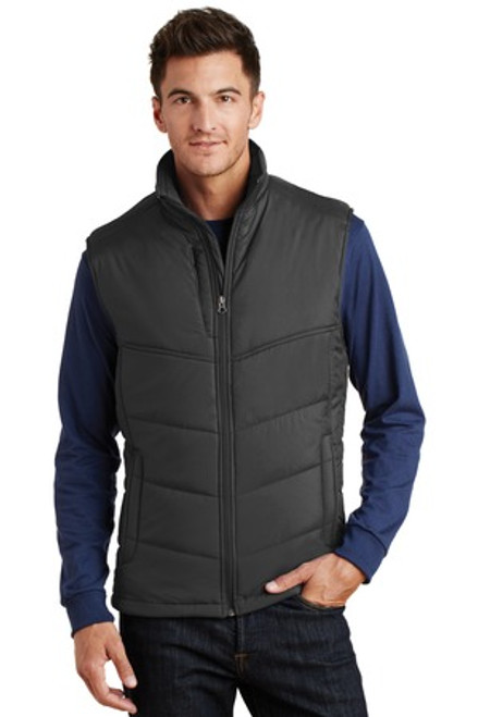 Port Authority Puffy Vest (00679-25); Primary; Decoration Type: