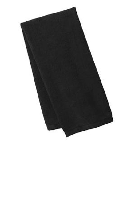 Port Authority Microfiber Golf Towel (00062-25); Primary; Decoration Type: