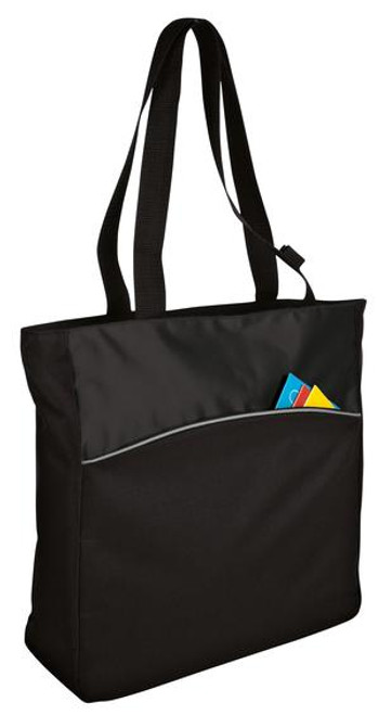 Port Authority - Two-Tone Colorblock Tote (01879-25); Primary; Decoration Type: