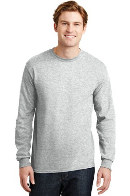 Gildan - Dryblend 50 Cotton/50 Poly Long Sleeve T-Shirt (01894-25); Primary; Decoration Type: