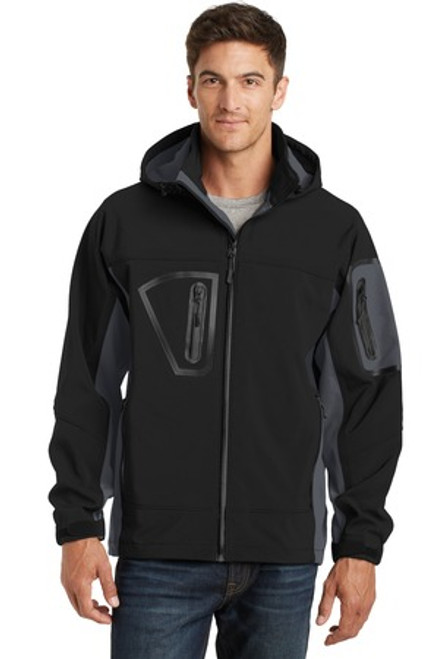 Port Authority Waterproof Soft Shell Jacket (00306-25); Primary; Decoration Type: