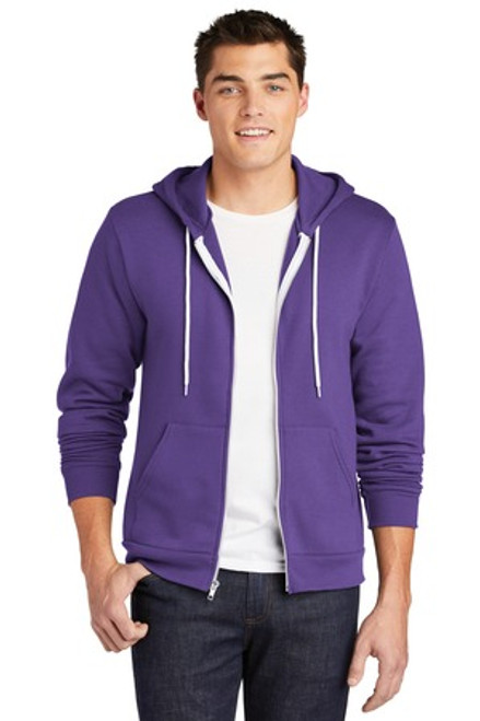 American Apparel Flex Fleece Zip Hoodie (02253-25); Primary; Decoration Type: