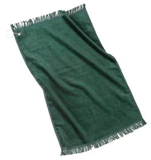 Discontinued Port Authority - Grommeted Hand Towel (00436-25); Primary; Decoration Type:
