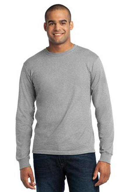 Port & Company - Long Sleeve All-American Tee (00766-25); Primary; Decoration Type: