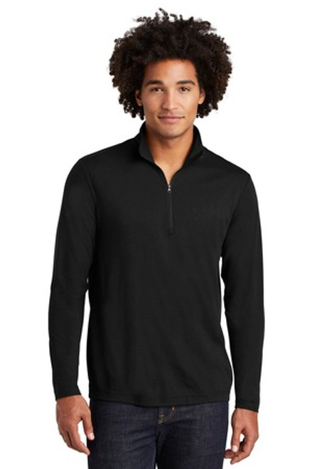 Sport-Tek Posicharge Tri-Blend Wicking 1/4-Zip Pullover (01233-25); Primary; Decoration Type: