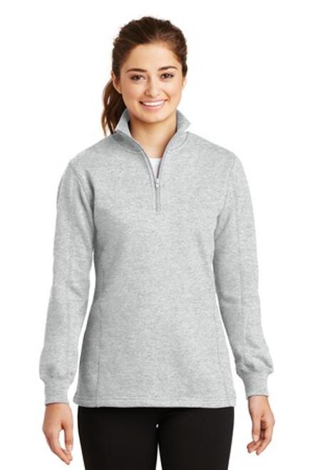 Sport-Tek Ladies 1/4-Zip Sweatshirt (02021-25); Primary; Decoration Type:
