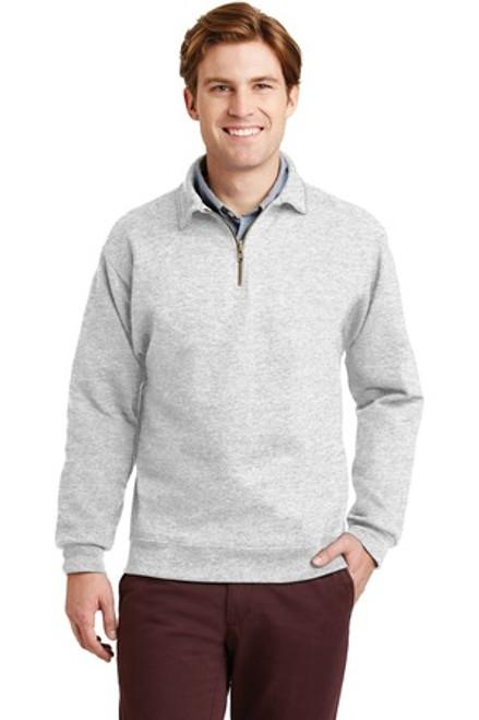 Jerzees Super Sweats Nublend - 1/4-Zip Sweatshirt With Cadet Collar (01953-25); Primary; Decoration Type: