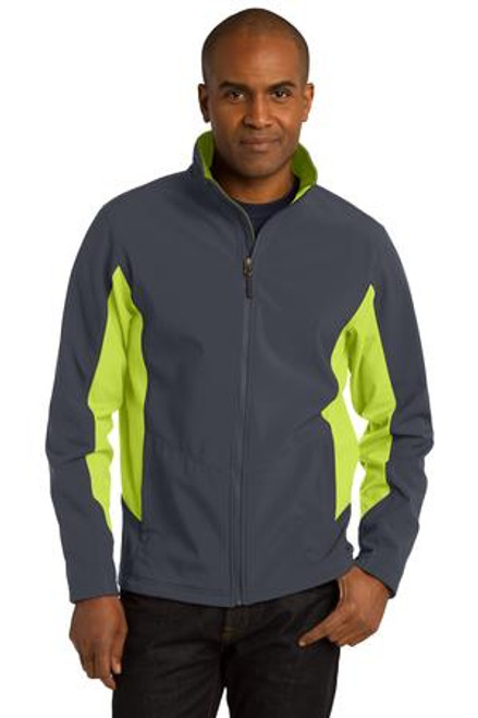 Port Authority Core Colorblock Soft Shell Jacket (01975-25); Primary; Decoration Type:
