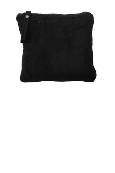 Port Authority Packable Travel Blanket (01563-25); Primary; Decoration Type: