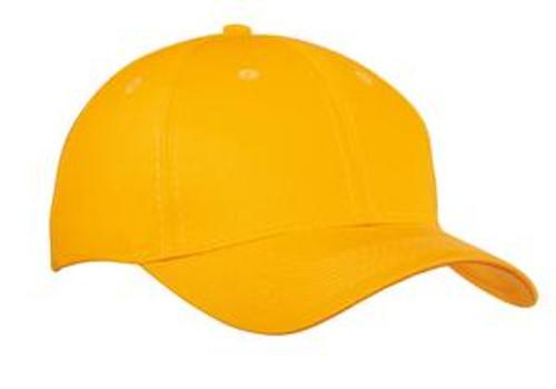 Port & Company Six-Panel Twill Cap (00835-25); Primary; Decoration Type: