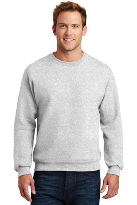 Jerzees Super Sweats Nublend - Crewneck Sweatshirt (00139-25); Primary; Decoration Type: