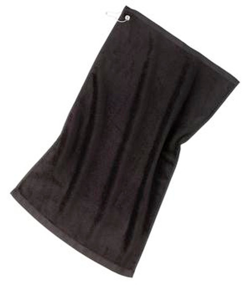Port Authority Grommeted Golf Towel (01196-25); Primary; Decoration Type: