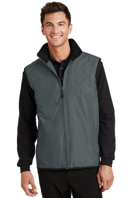 Port Authority Challenger Vest (00887-25); Primary; Decoration Type: