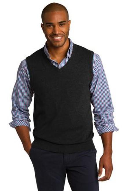 Port Authority Sweater Vest (00214-25); Primary; Decoration Type: