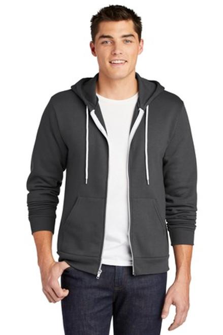 American Apparel Usa Collection Flex Fleece Zip Hoodie (00720-25); Primary; Decoration Type: