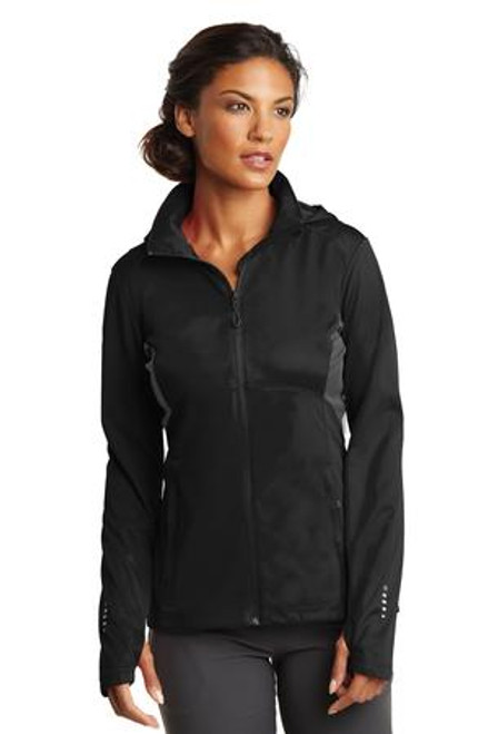 Ogio Endurance Ladies Pivot Soft Shell (01619-25); Primary; Decoration Type: