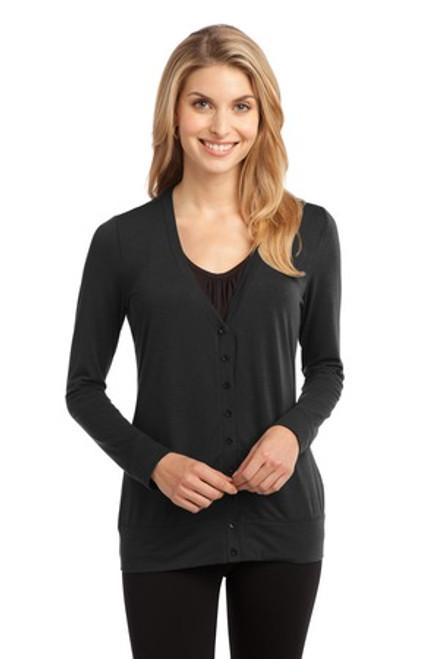 Port Authority Ladies Concept Cardigan (01361-25); Primary; Decoration Type: