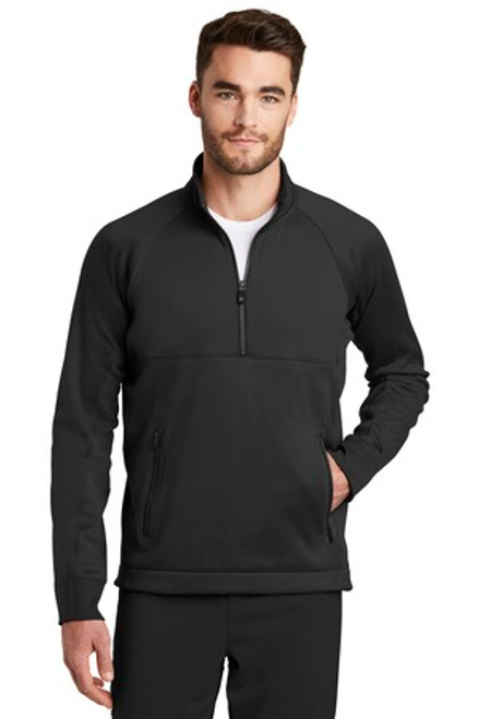 New Era Venue Fleece 1/4-Zip Pullover (00805-25); Primary; Decoration Type: