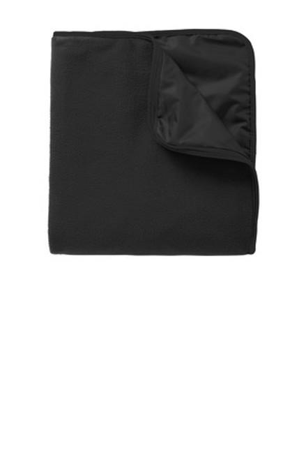 Port Authority Fleece & Poly Travel Blanket (00179-25); Primary; Decoration Type: