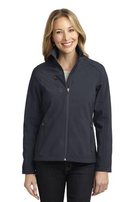 Port Authority Ladies Welded Soft Shell Jacket (01295-25); Primary; Decoration Type: