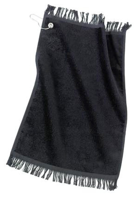 Discontinued Port Authority - Grommeted Fingertip Towel (01988-25); Primary; Decoration Type: