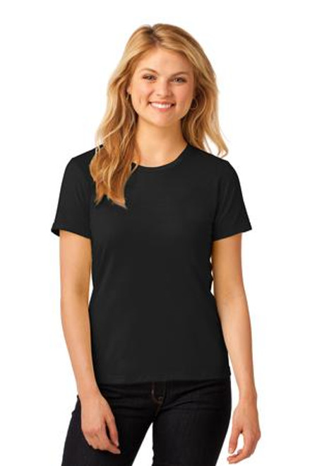 Anvil Ladies 100% Combed Ring Spun Cotton T-Shirt (00785-25); Primary; Decoration Type: