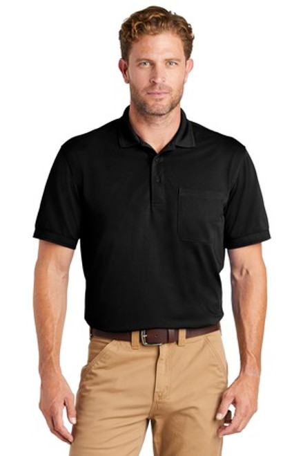 Cornerstone Industrial Snag-Proof Pique Pocket Polo (01243-25); Primary; Decoration Type: