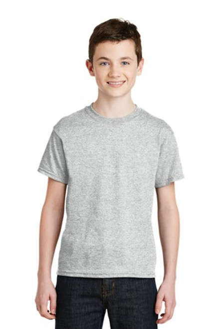 Gildan - Youth Dryblend 50 Cotton/50 Poly T-Shirt (00387-25); Primary; Decoration Type: