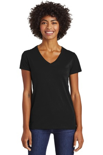 Alternative Women'S Runaway Blended Jersey V-Neck Tee (00769-25); Primary; Decoration Type: