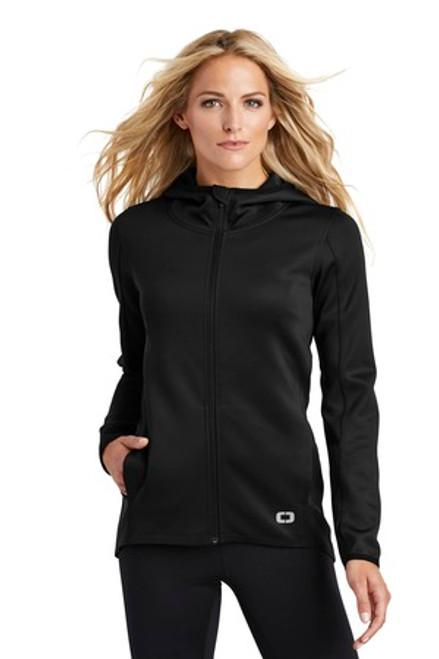 Ogio Endurance Ladies Stealth Full-Zip Jacket (01007-25); Primary; Decoration Type: